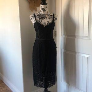 EXPRESS lace black dress